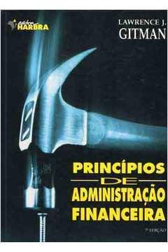 PRINCIPIOS DE ADMINISTRACAO FINANCEIRA 7ª EDICAO